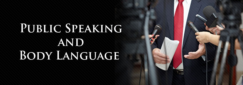 Public Speaking and Body Language