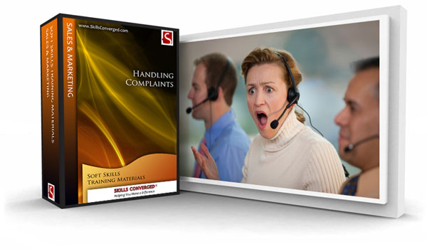 Skills Converged - Handling Complaints Training Materials Course