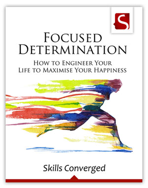 Focused Determination - Book Front Cover