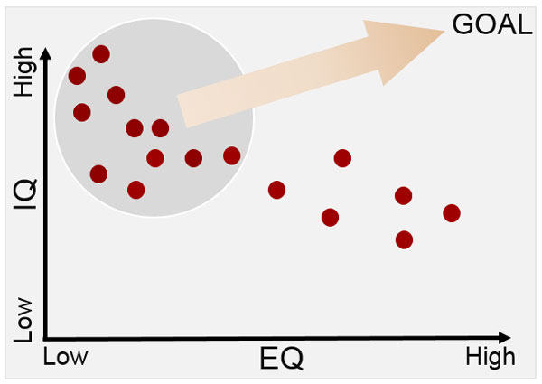 IQ-EQ Graph Goal