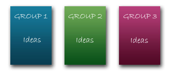 Brainstorming Exercise: Display Your Ideas
