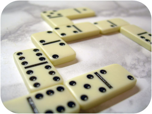 Can You Make it with Dominos?