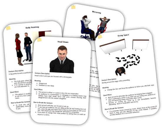 Body Language Cards Part 2