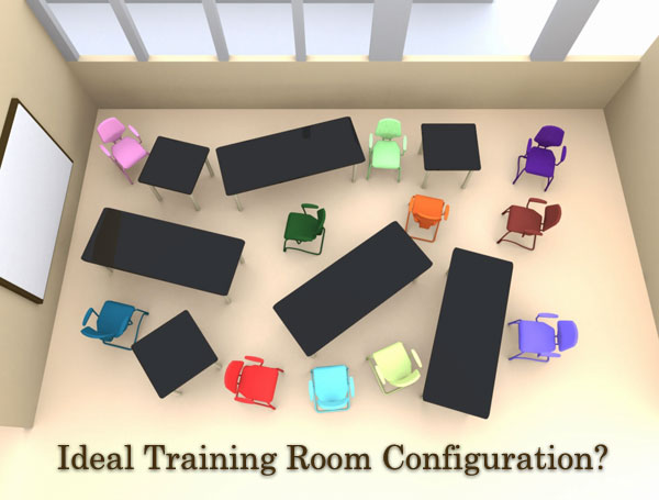 Ideal Training Room Configuration