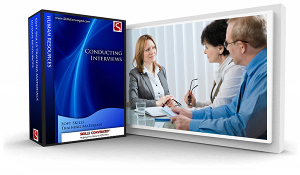 Skills Converged - Conducting Interviews Training Materials Course