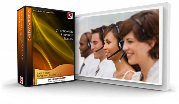 Skills Converged - Customer Service Skills Training Materials Course