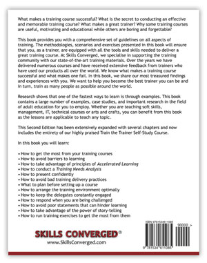 Train the Trainer - Book Back Cover